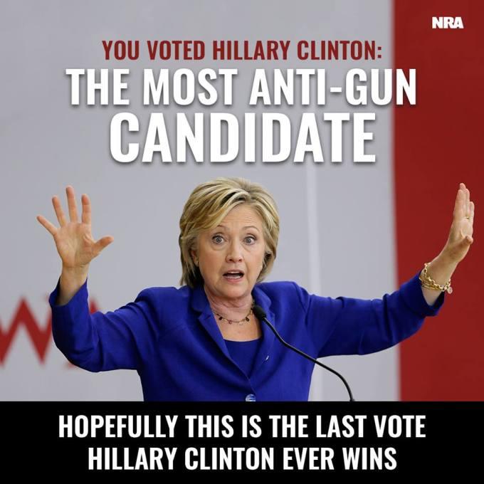 Hillary NRA