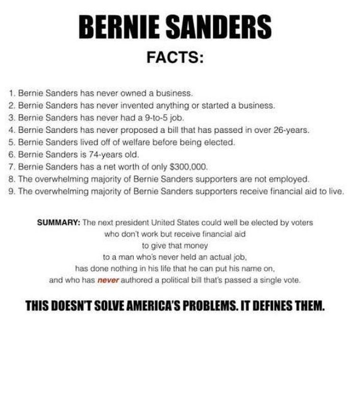 bernie facts 750
